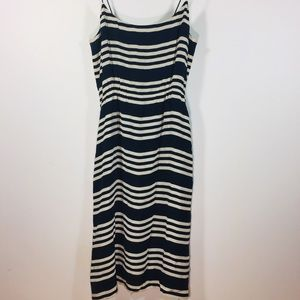 J Crew Silk Stripe Dress